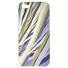 Wavy Ribbons Background Wallpaper Apple Iphone 5 Hardshell Case by Nexatart