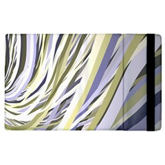 Wavy Ribbons Background Wallpaper Apple iPad 2 Flip Case