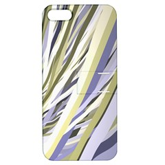 Wavy Ribbons Background Wallpaper Apple Iphone 5 Hardshell Case With Stand by Nexatart