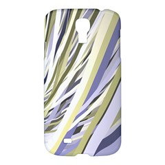 Wavy Ribbons Background Wallpaper Samsung Galaxy S4 I9500/i9505 Hardshell Case by Nexatart
