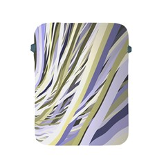 Wavy Ribbons Background Wallpaper Apple Ipad 2/3/4 Protective Soft Cases