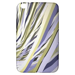 Wavy Ribbons Background Wallpaper Samsung Galaxy Tab 3 (8 ) T3100 Hardshell Case