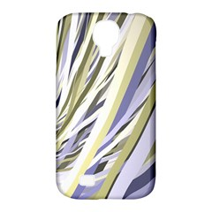 Wavy Ribbons Background Wallpaper Samsung Galaxy S4 Classic Hardshell Case (pc+silicone)