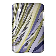 Wavy Ribbons Background Wallpaper Samsung Galaxy Tab 2 (7 ) P3100 Hardshell Case
