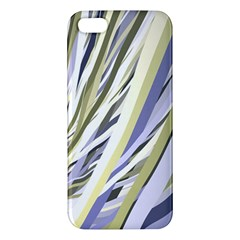 Wavy Ribbons Background Wallpaper Iphone 5s/ Se Premium Hardshell Case by Nexatart