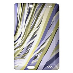 Wavy Ribbons Background Wallpaper Amazon Kindle Fire Hd (2013) Hardshell Case by Nexatart