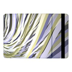 Wavy Ribbons Background Wallpaper Samsung Galaxy Tab Pro 10 1  Flip Case