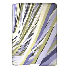 Wavy Ribbons Background Wallpaper Samsung Galaxy Tab S (10 5 ) Hardshell Case  by Nexatart