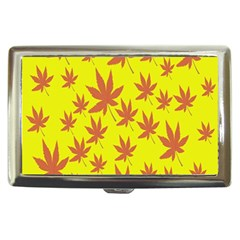 Autumn Background Cigarette Money Cases by Nexatart