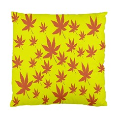 Autumn Background Standard Cushion Case (two Sides) by Nexatart