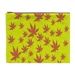 Autumn Background Cosmetic Bag (xl)