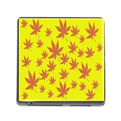 Autumn Background Memory Card Reader (square)