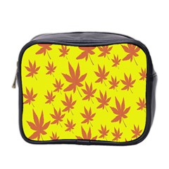 Autumn Background Mini Toiletries Bag 2 Side by Nexatart