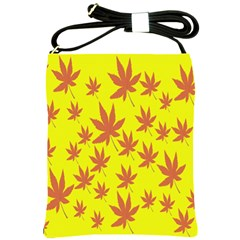 Autumn Background Shoulder Sling Bags by Nexatart