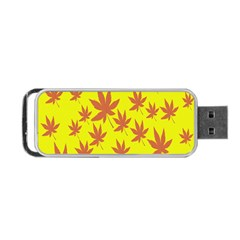 Autumn Background Portable Usb Flash (two Sides)
