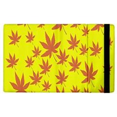 Autumn Background Apple Ipad 3/4 Flip Case