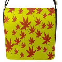 Autumn Background Flap Messenger Bag (s) by Nexatart