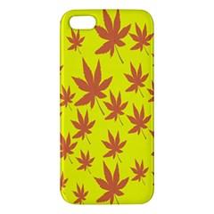 Autumn Background Iphone 5s/ Se Premium Hardshell Case