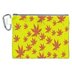 Autumn Background Canvas Cosmetic Bag (xxl) by Nexatart