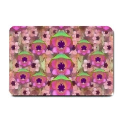 It Is Lotus In The Air Small Doormat  by pepitasart