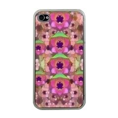 It Is Lotus In The Air Apple Iphone 4 Case (clear) by pepitasart