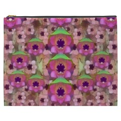 It Is Lotus In The Air Cosmetic Bag (xxxl)  by pepitasart