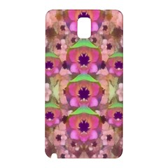 It Is Lotus In The Air Samsung Galaxy Note 3 N9005 Hardshell Back Case by pepitasart
