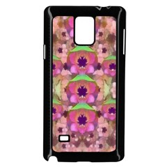 It Is Lotus In The Air Samsung Galaxy Note 4 Case (black) by pepitasart