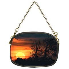 Sunset At Nature Landscape Chain Purses (two Sides)  by dflcprints