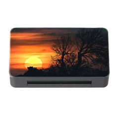 Sunset At Nature Landscape Memory Card Reader With Cf by dflcprints