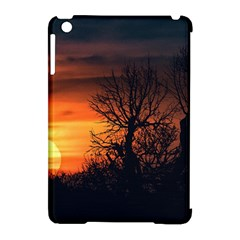 Sunset At Nature Landscape Apple Ipad Mini Hardshell Case (compatible With Smart Cover) by dflcprints