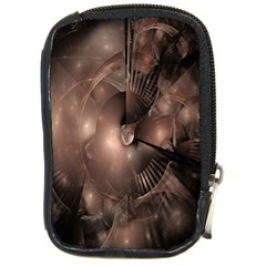 A Fractal Image In Shades Of Brown Compact Camera Cases by Nexatart