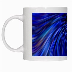 Stylish Twirl White Mugs by Nexatart