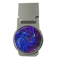 Stylish Twirl Money Clips (round)  by Nexatart