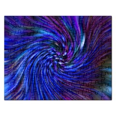 Stylish Twirl Rectangular Jigsaw Puzzl