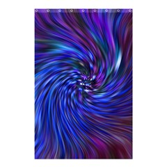 Stylish Twirl Shower Curtain 48  X 72  (small)  by Nexatart