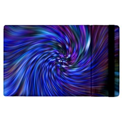 Stylish Twirl Apple Ipad 2 Flip Case by Nexatart