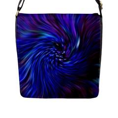 Stylish Twirl Flap Messenger Bag (l)  by Nexatart
