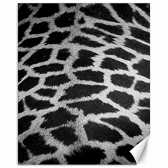 Black And White Giraffe Skin Pattern Canvas 16  X 20
