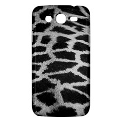Black And White Giraffe Skin Pattern Samsung Galaxy Mega 5 8 I9152 Hardshell Case