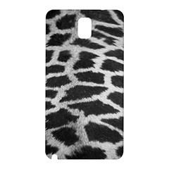 Black And White Giraffe Skin Pattern Samsung Galaxy Note 3 N9005 Hardshell Back Case