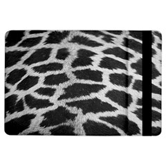 Black And White Giraffe Skin Pattern Ipad Air Flip by Nexatart