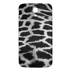 Black And White Giraffe Skin Pattern Samsung Galaxy Mega I9200 Hardshell Back Case by Nexatart