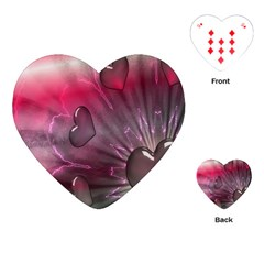 Love Hearth Background Wallpaper Playing Cards (heart)  by Nexatart
