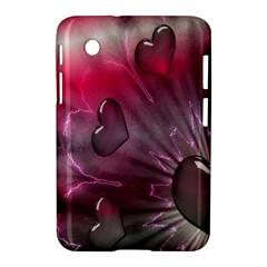 Love Hearth Background Wallpaper Samsung Galaxy Tab 2 (7 ) P3100 Hardshell Case