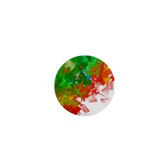 Digitally Painted Messy Paint Background Textur 1  Mini Buttons by Nexatart