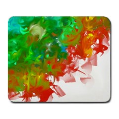 Digitally Painted Messy Paint Background Textur Large Mousepads by Nexatart