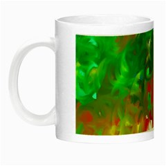 Digitally Painted Messy Paint Background Textur Night Luminous Mugs