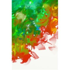 Digitally Painted Messy Paint Background Textur 5 5  X 8 5  Notebooks by Nexatart