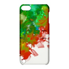Digitally Painted Messy Paint Background Textur Apple Ipod Touch 5 Hardshell Case With Stand by Nexatart